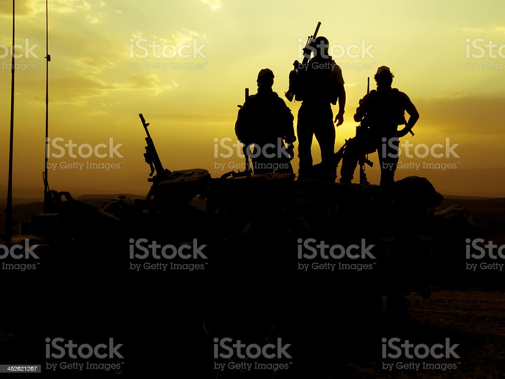 Special Forces Afghanistan stock photo