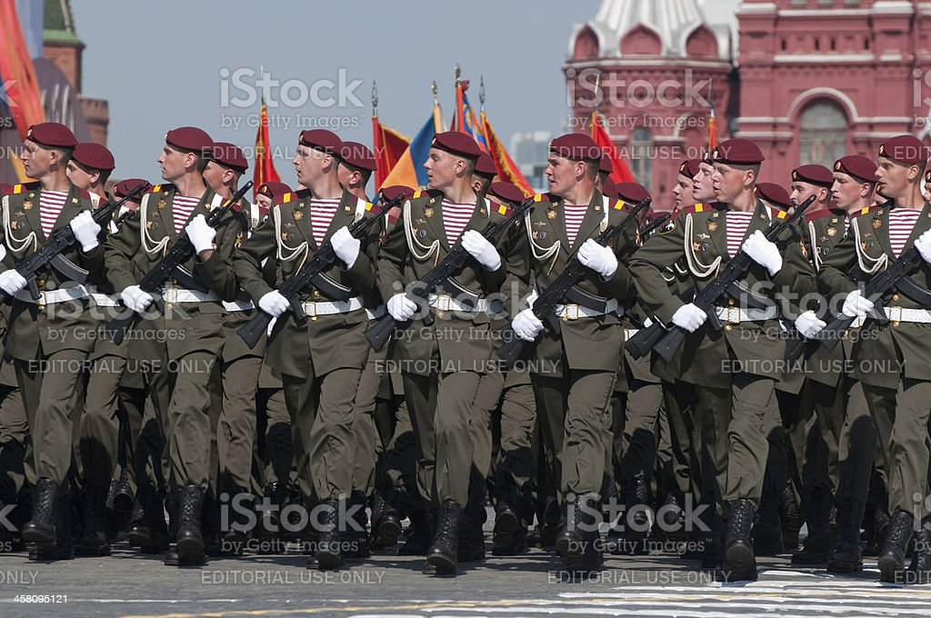Special forces of the Russian Army royalty-free stock photo