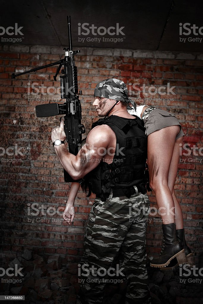 Special forces royalty-free stock photo