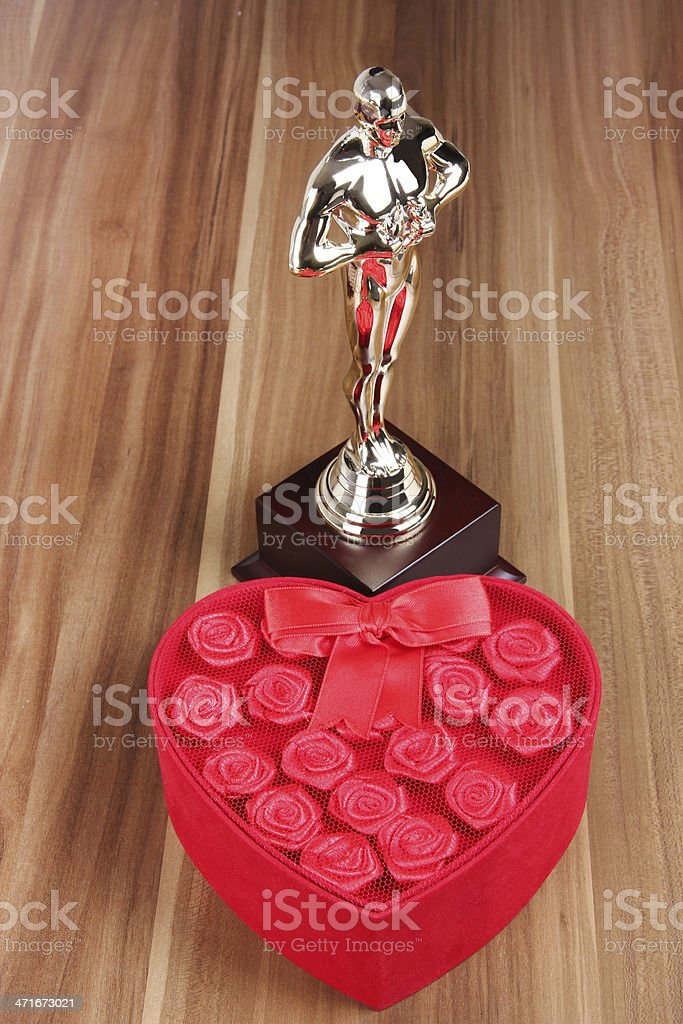 Special Gift And Award stock photo