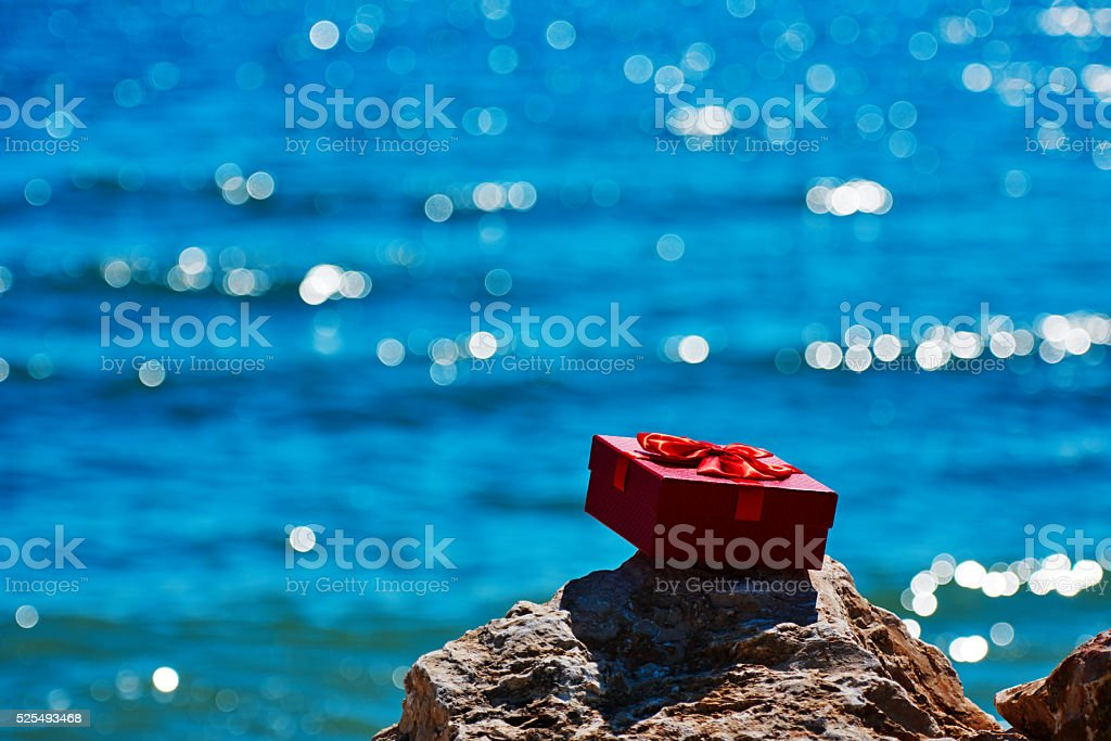 special gift for sunny days stock photo