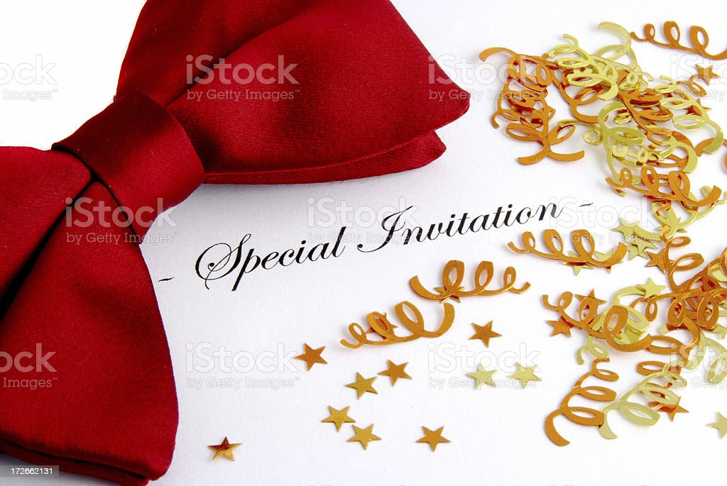 Special Invitation royalty-free stock photo