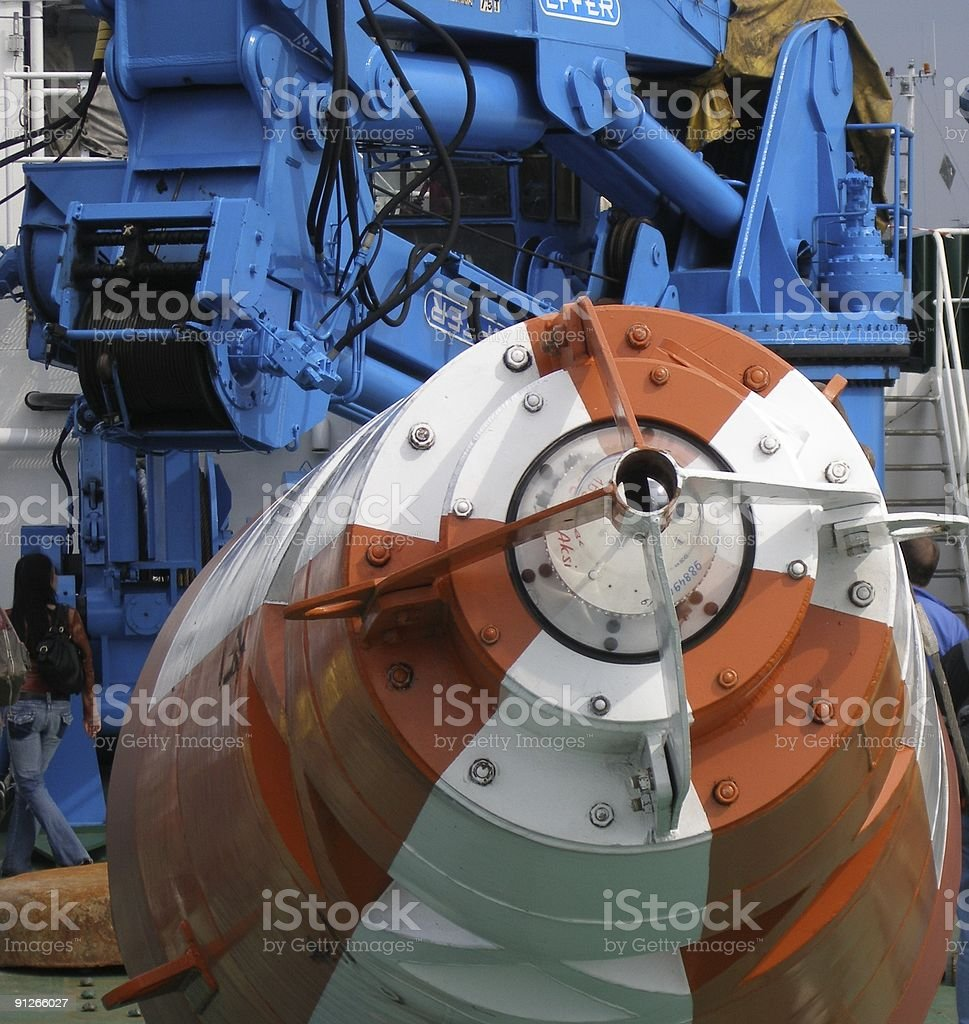 Special machine royalty-free stock photo
