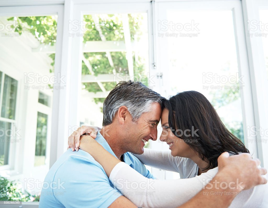 Special moments together stock photo