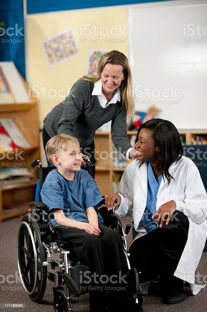 Special Needs royalty-free stock photo