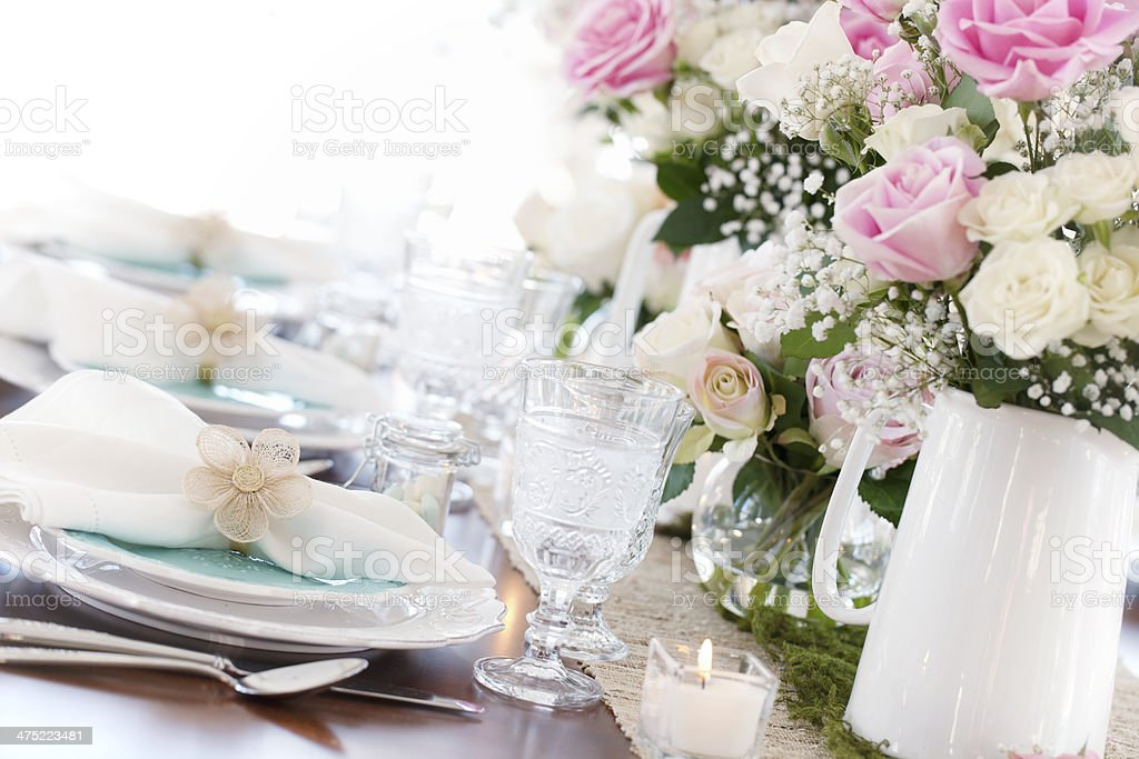 Special Occasion Dining stock photo