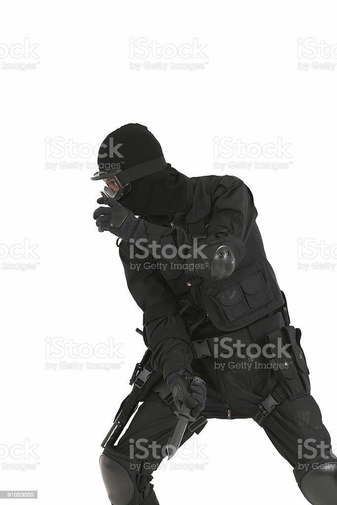 Special operations Solider stock photo