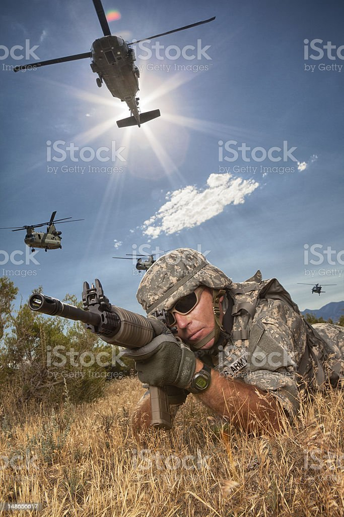 Special Ops Mission stock photo
