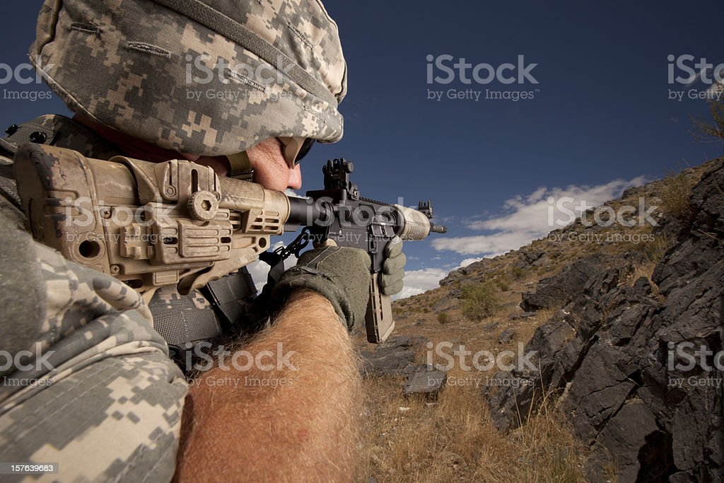 Special Ops Mission royalty-free stock photo