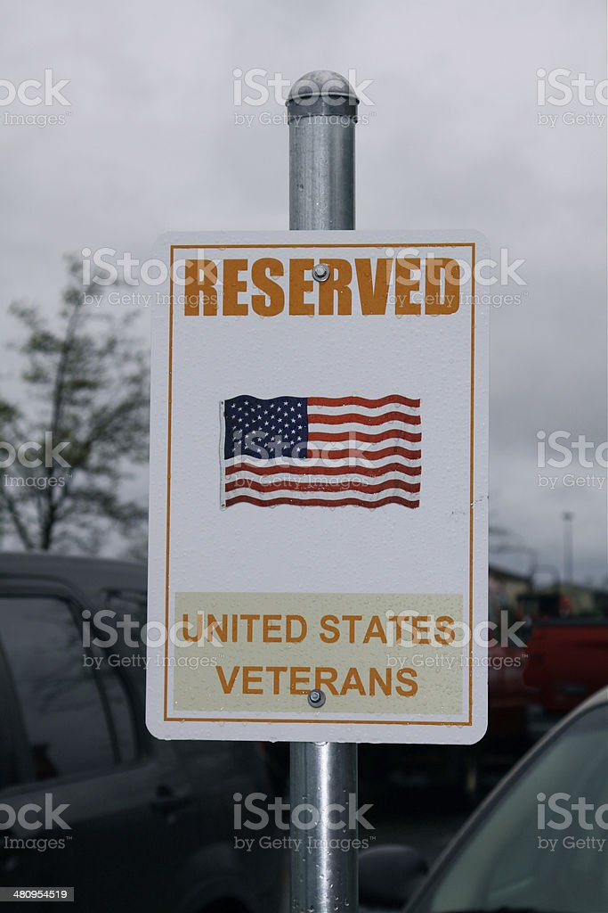 Special Parking Sign royalty-free stock photo