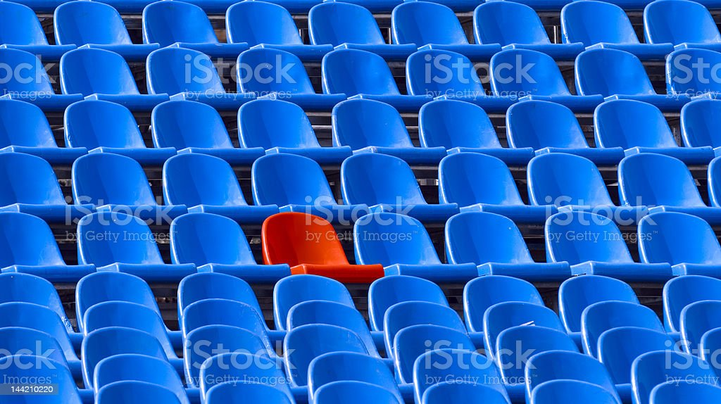 special seat royalty-free stock photo