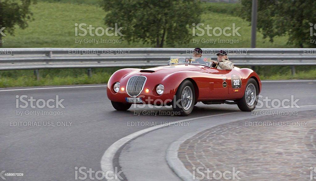 JAGUAR-BIONDETTI Special Sport (year 1950) vintage car stock photo