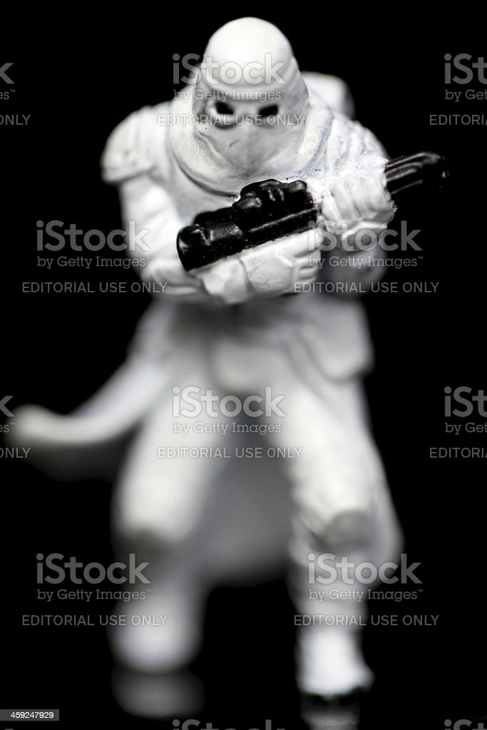 Specialized Troops stock photo