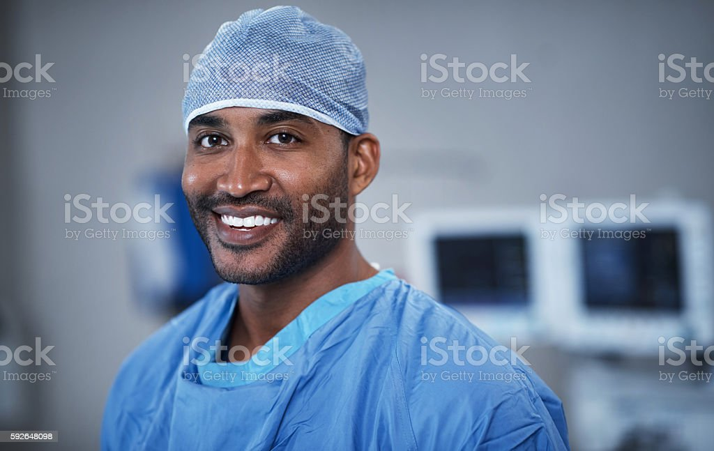 Specializing in surgical success stock photo