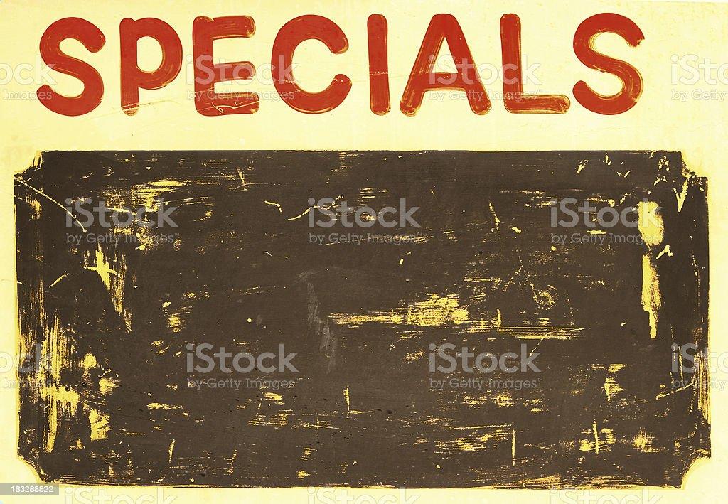 Specials royalty-free stock photo