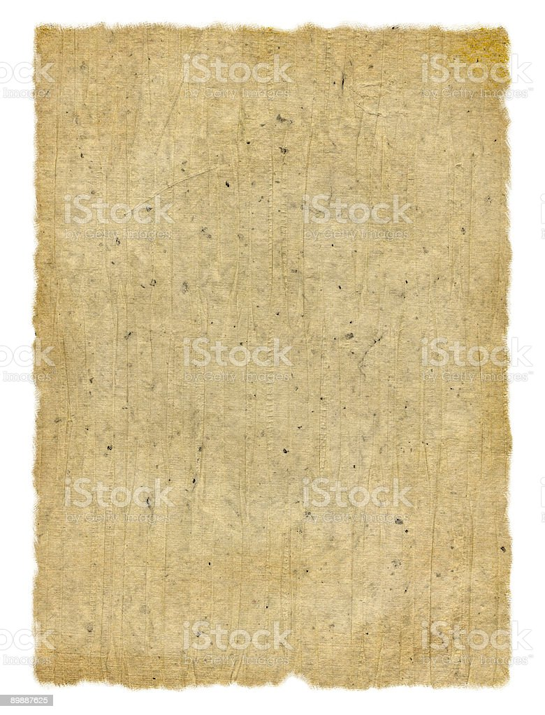 Speckled/Wrinkled Paper royalty-free stock photo