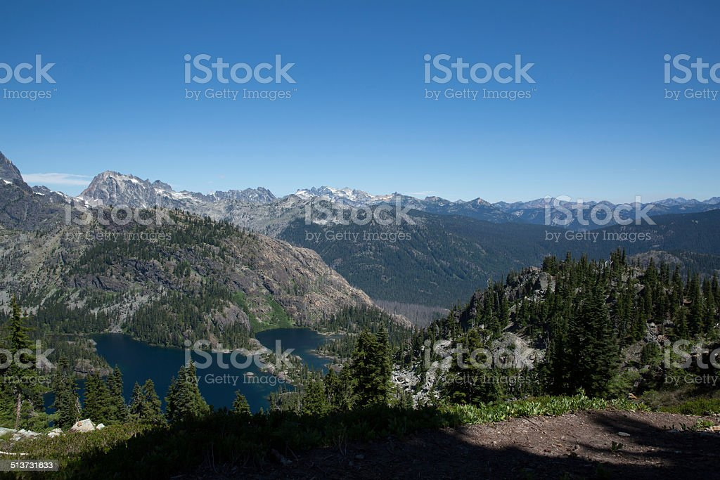 Spectacle Lake stock photo
