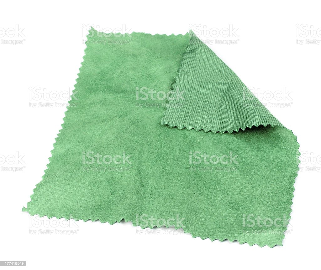 Spectacle Lens Cleaning Cloth stock photo