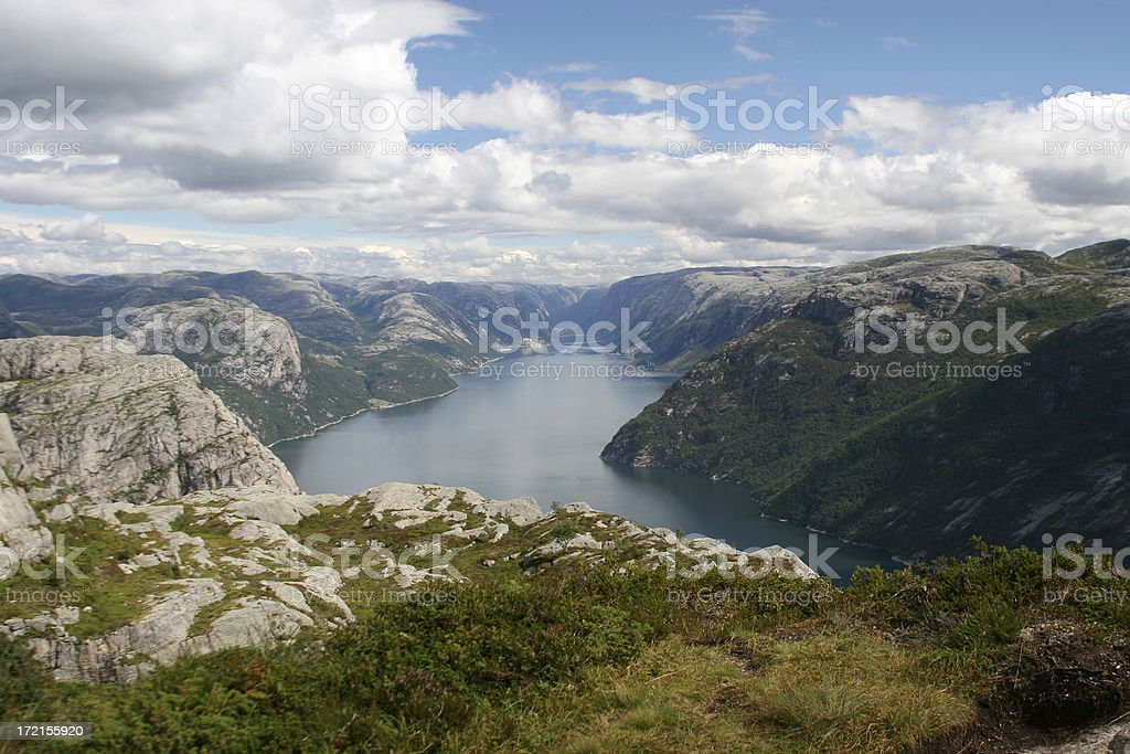 Spectacular Fjord royalty-free stock photo