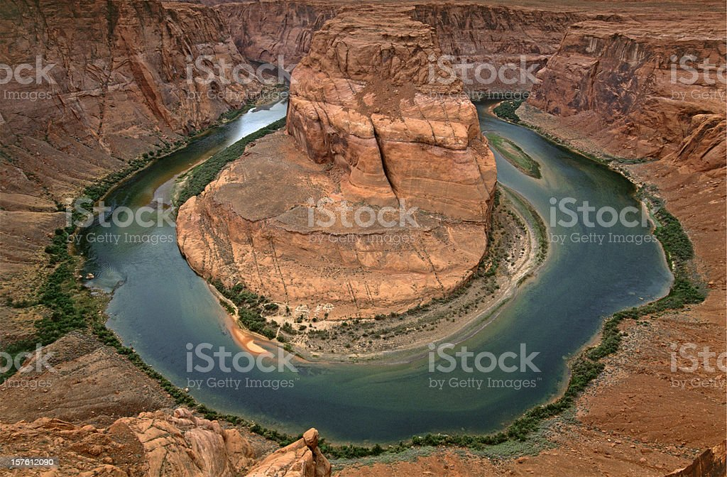 spectacular Horseshoe Bend royalty-free stock photo
