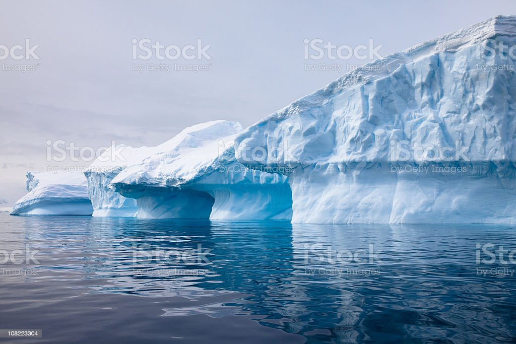 Spectacular Icebergs royalty-free stock photo