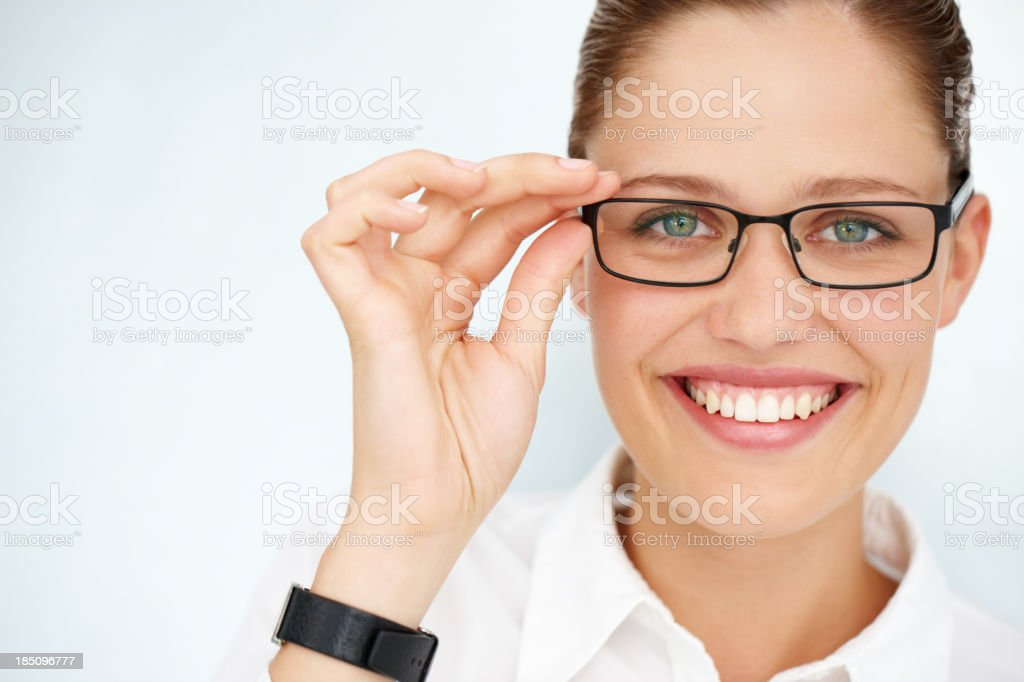Spectacular spectacles for perfect sight royalty-free stock photo