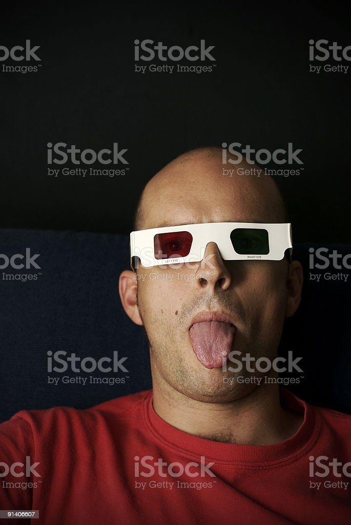 Spectator royalty-free stock photo