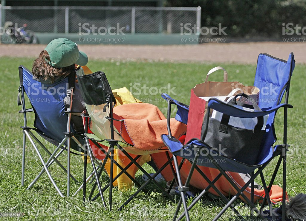Spectator Seating royalty-free stock photo
