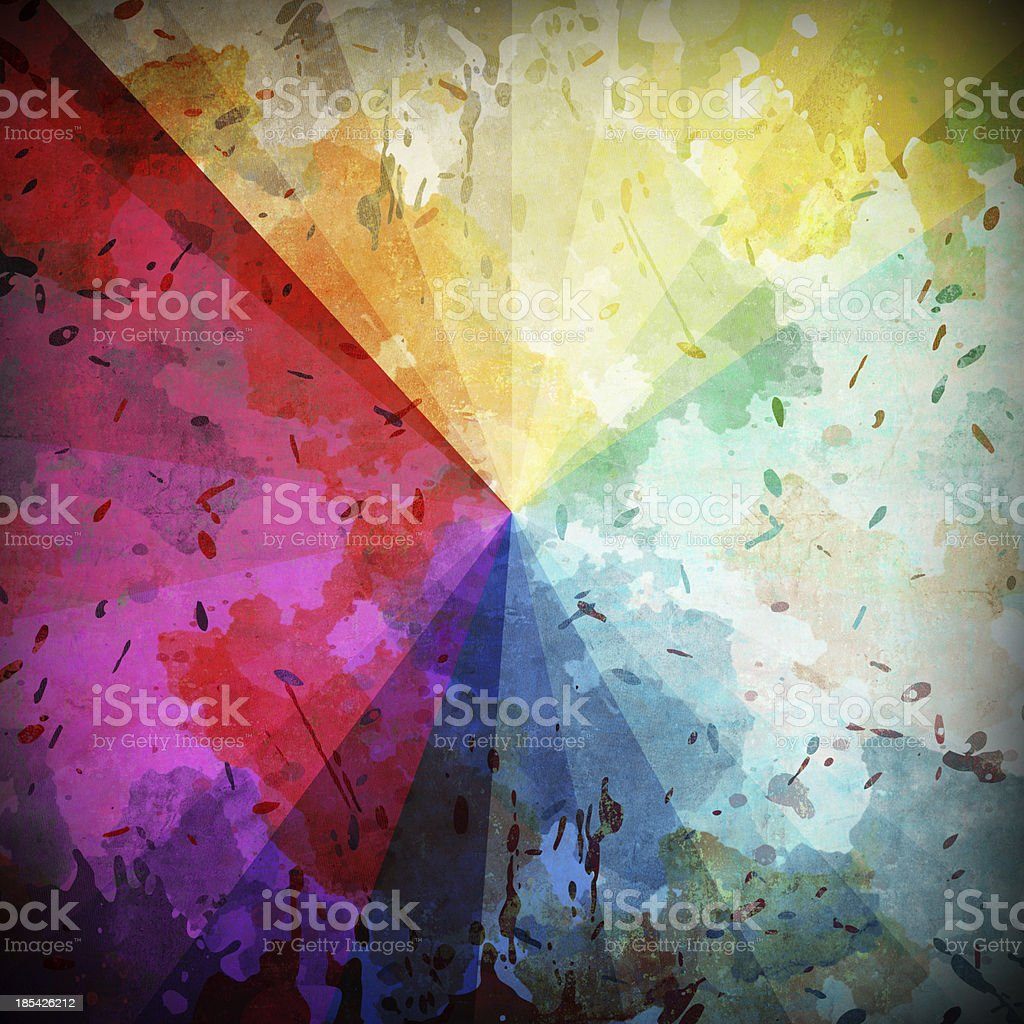 Spectral color royalty-free stock photo