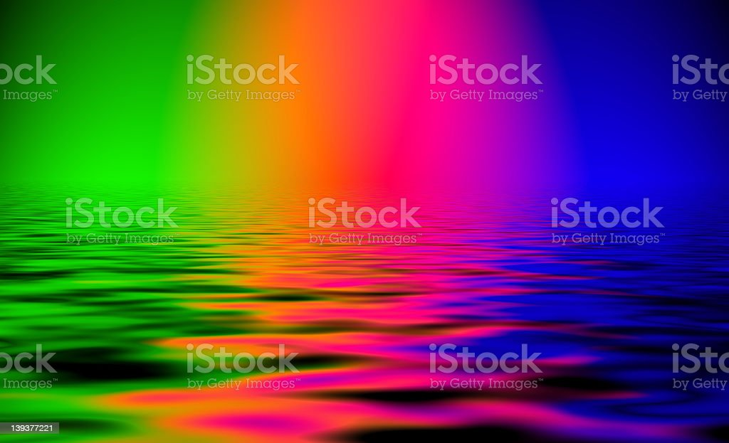 Spectral Sea royalty-free stock photo