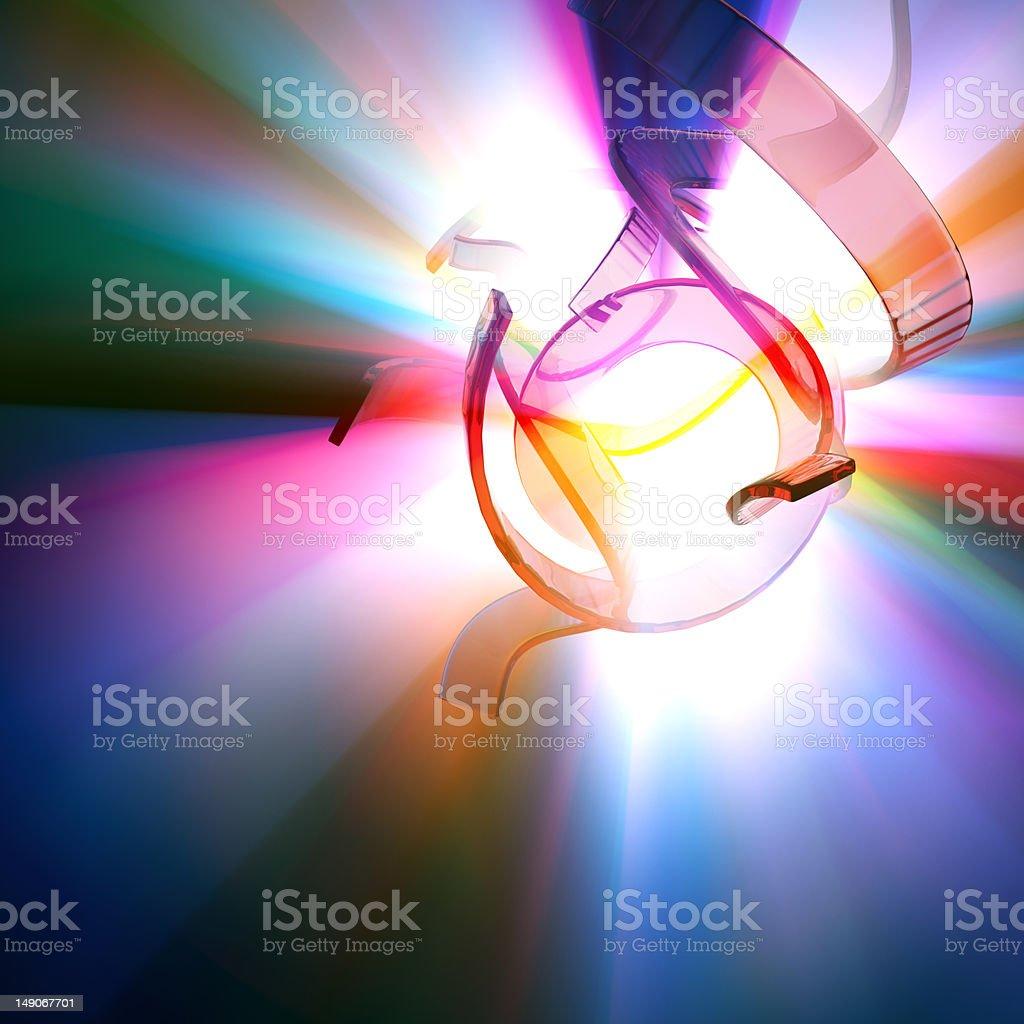 Spectrum Flash royalty-free stock photo
