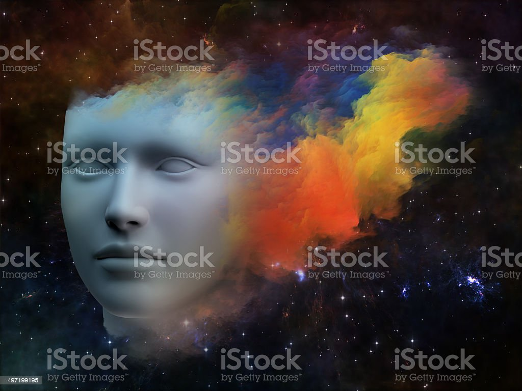 Spectrum of the Mind royalty-free stock photo