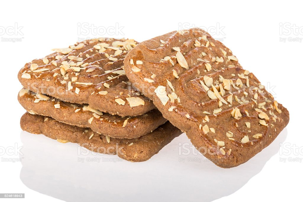 Speculaas,  typical Dutch sweets stock photo