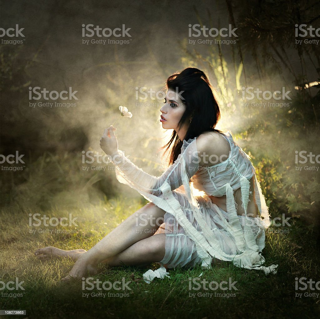 Speculative Being royalty-free stock photo