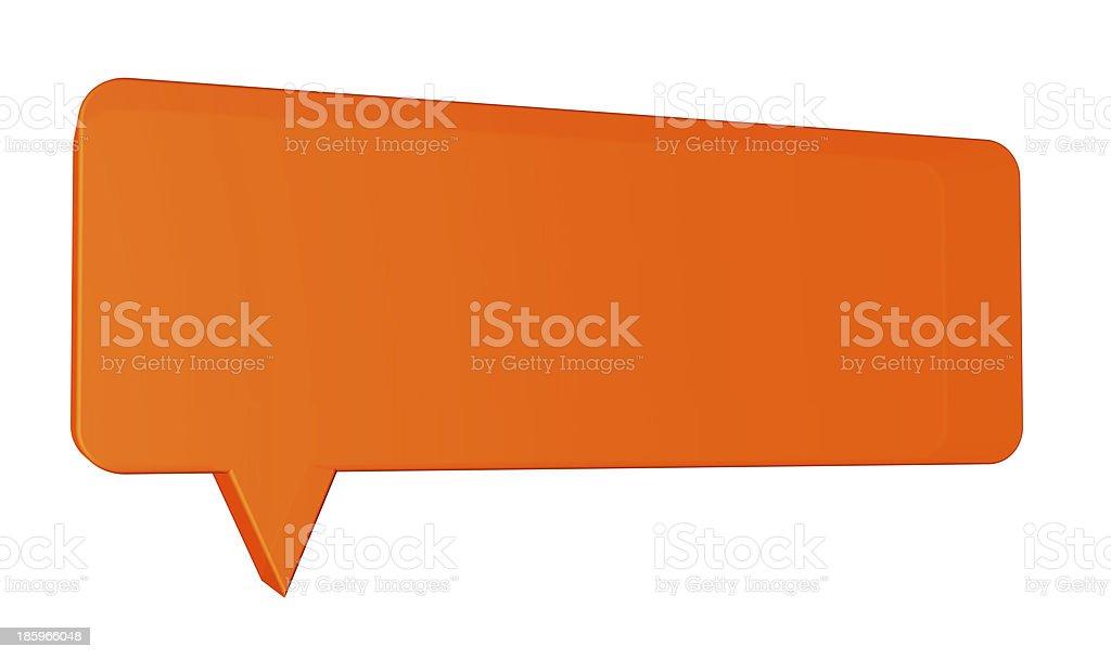 speech balloon stock photo