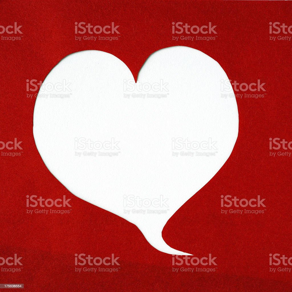 Speech Bubble royalty-free stock photo