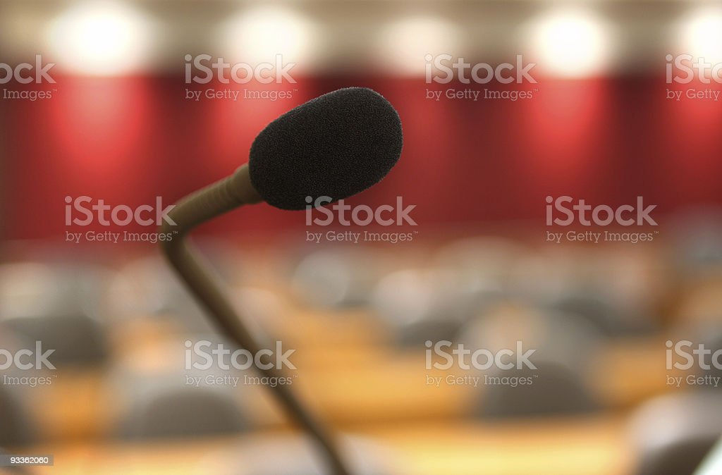 Speech Centre royalty-free stock photo