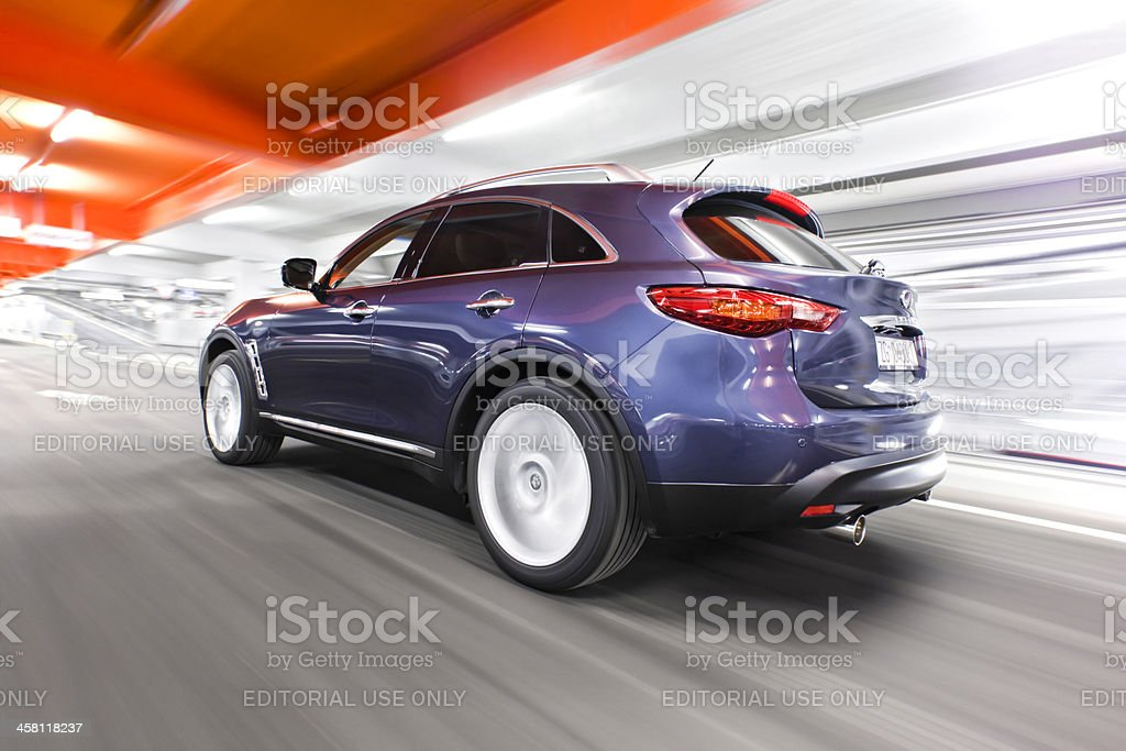 Speed and luxury royalty-free stock photo