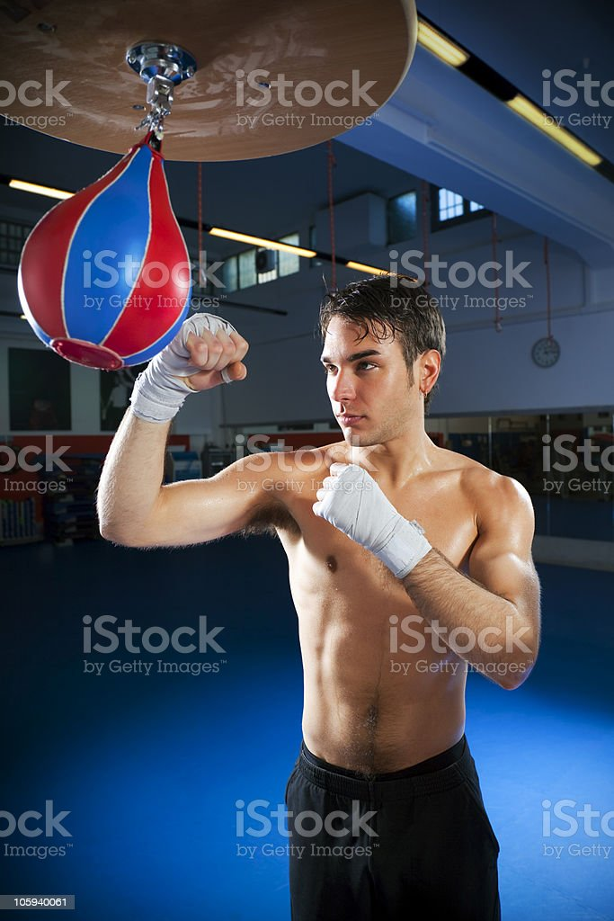 speed bag stock photo