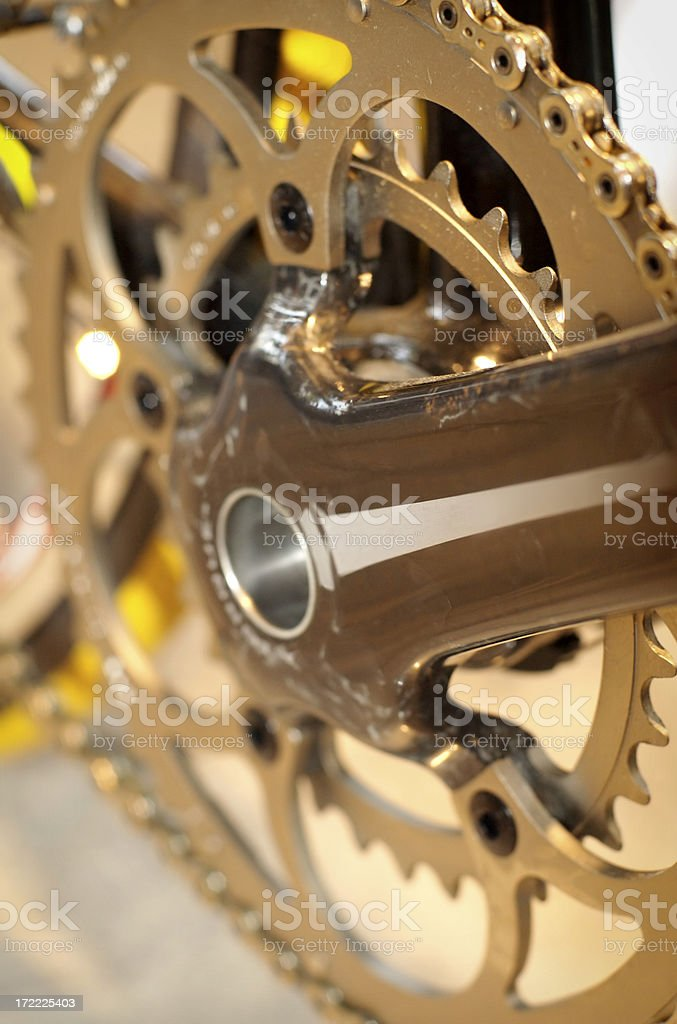 Speed bicycle royalty-free stock photo