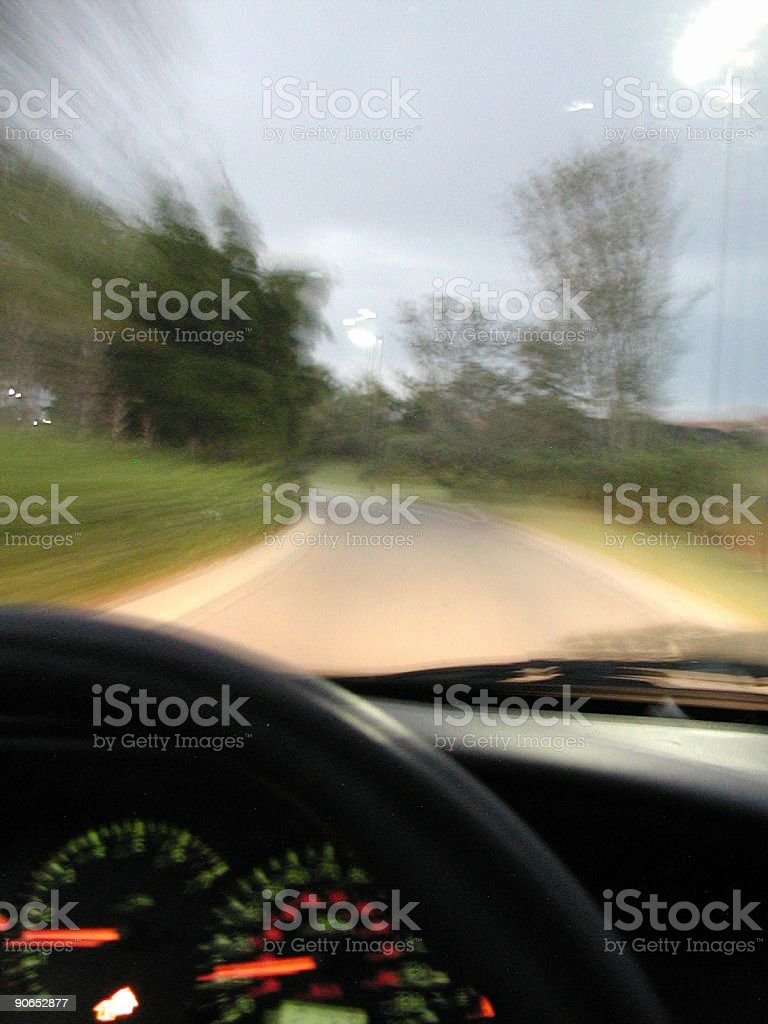 Speed Blury royalty-free stock photo