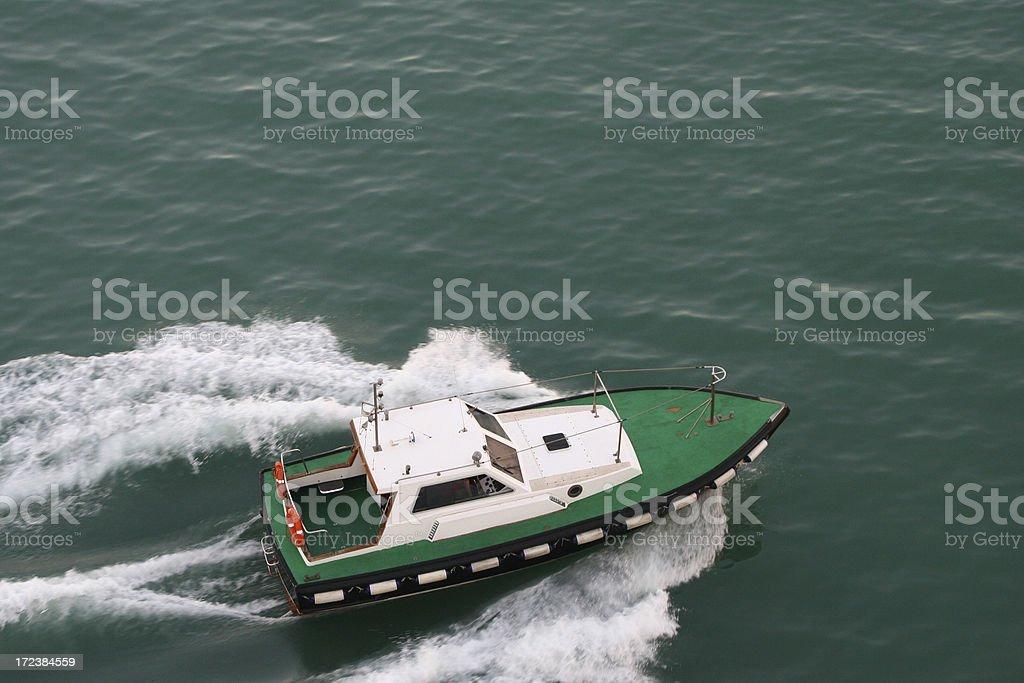 Speed boat royalty-free stock photo