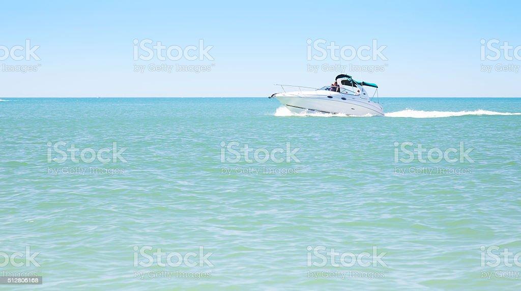 Speed Boat stock photo