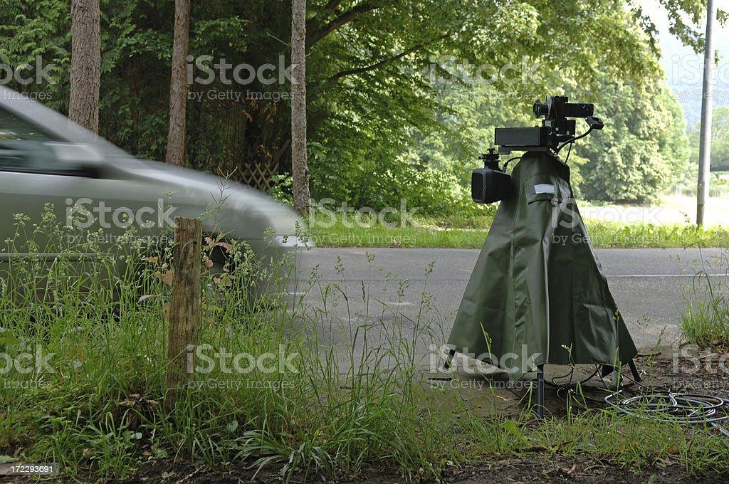 Speed camera #2 royalty-free stock photo