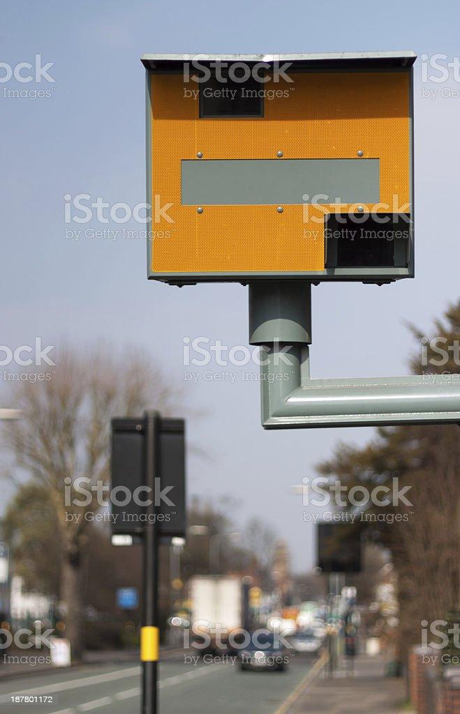 Speed Camera royalty-free stock photo
