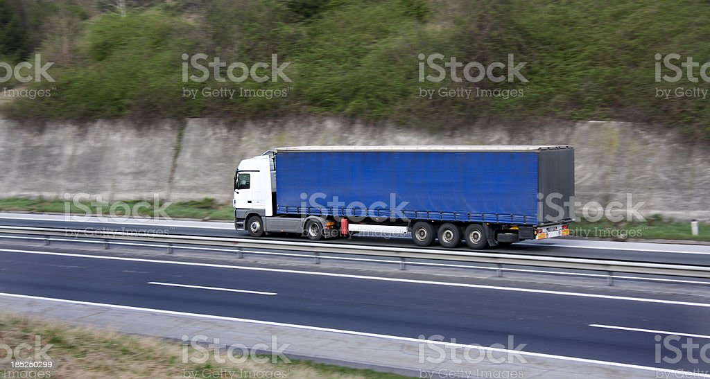 speed delivery royalty-free stock photo