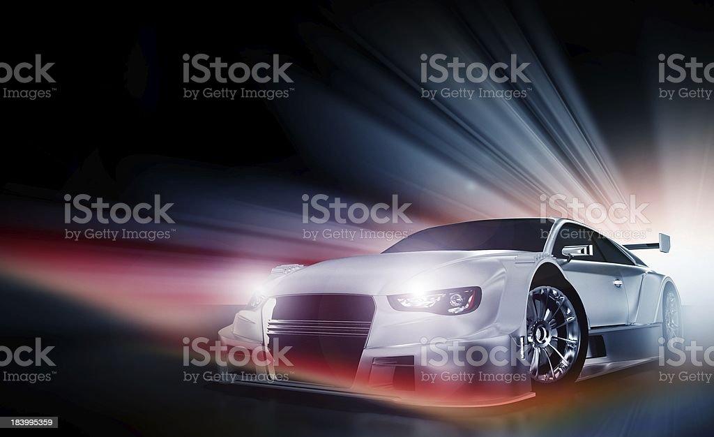 Speed Demon stock photo