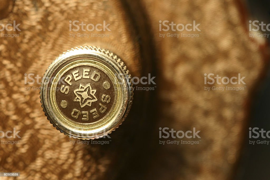 speed knob stock photo
