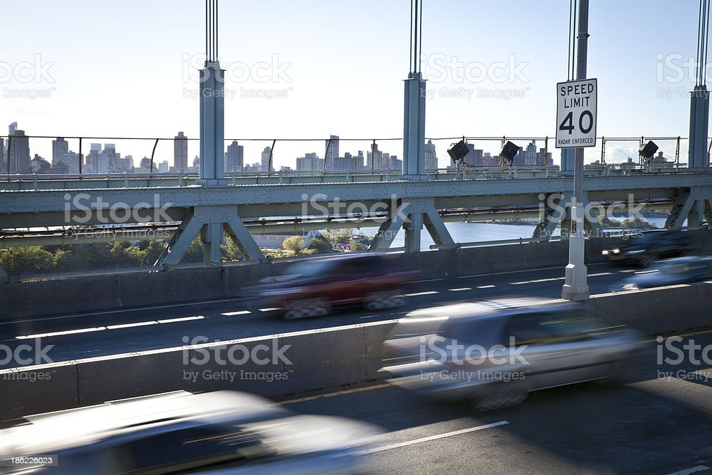 Speed Limit 40 stock photo