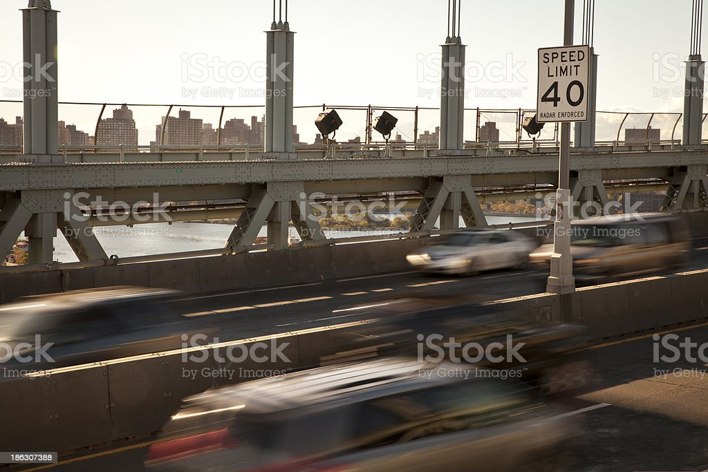 Speed Limit 40 stock photo